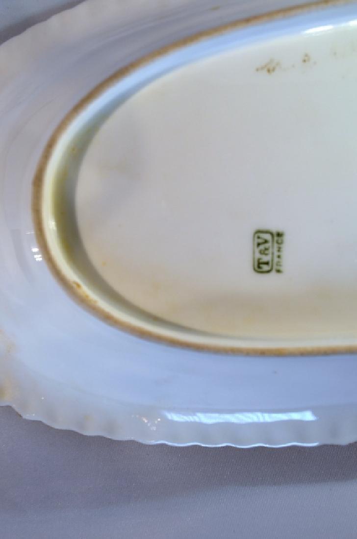 T & V Porcelain Tray Nasturtiums - 2