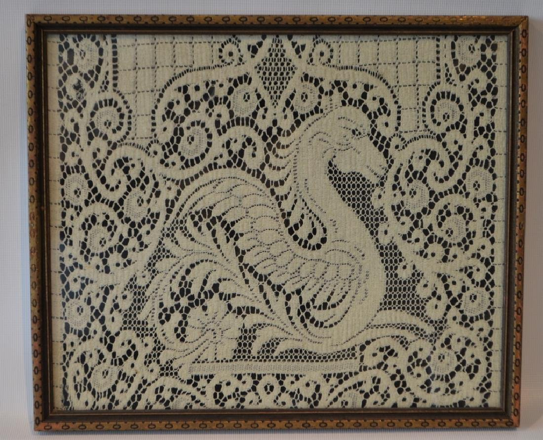 Lace Fragment of Griffin Runner - 2