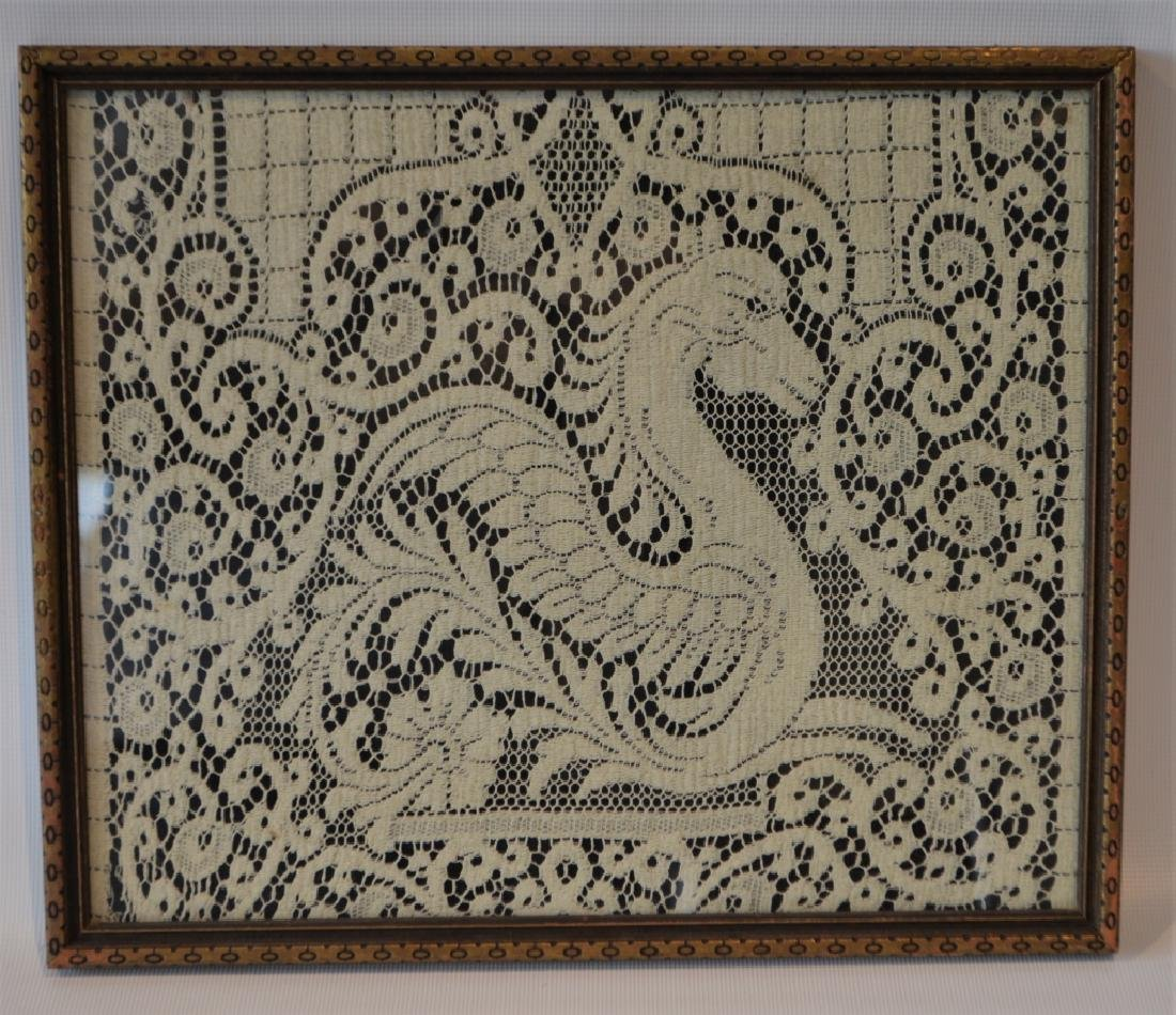 Lace Fragment of Griffin Runner - 4