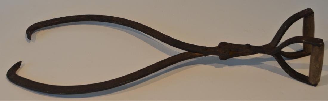 Antique Ice Pick Tongs