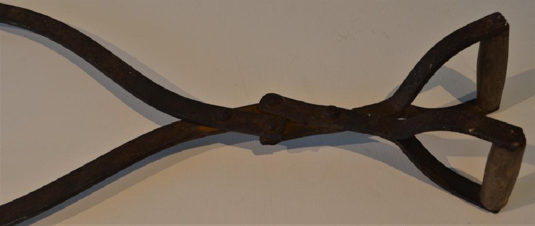 Antique Ice Pick Tongs - 2