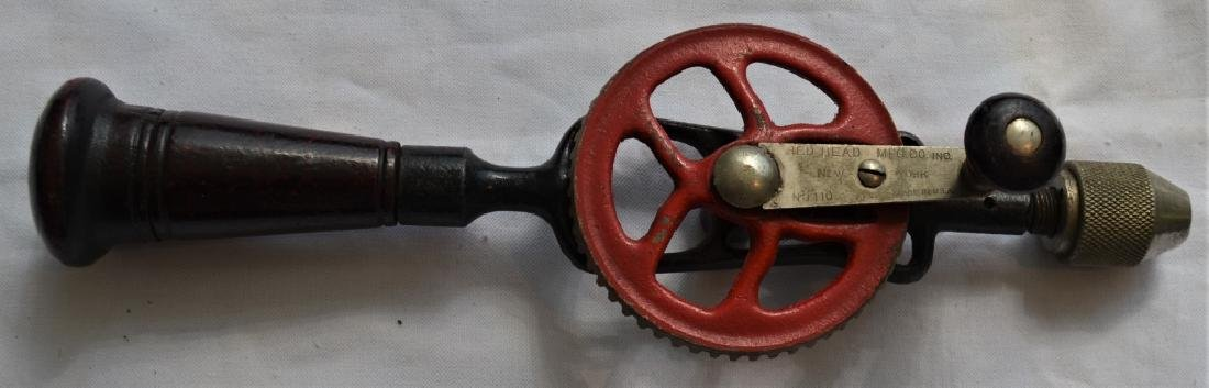 Antique Red Head Mfg Hand Drill