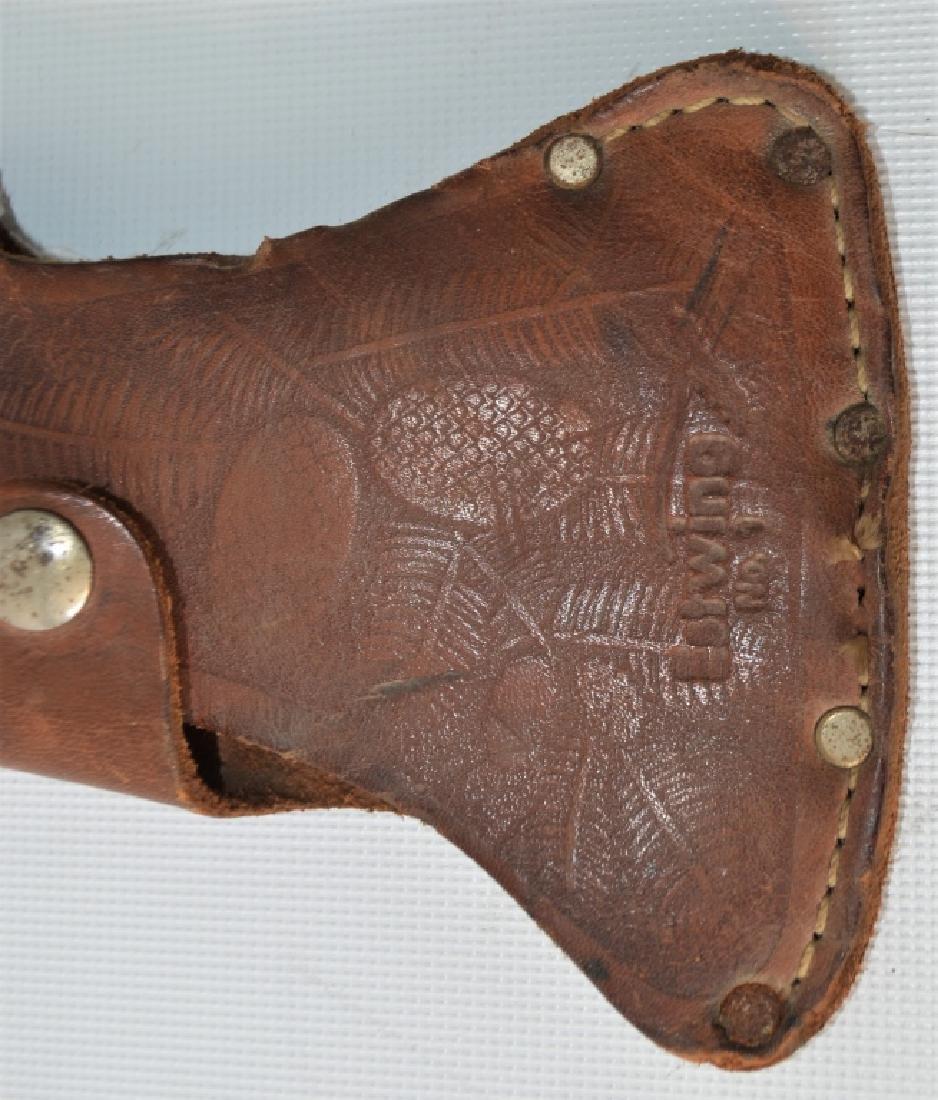 Vintage Boy Scouts Genuine Plumb Hatchet Sheath - 4