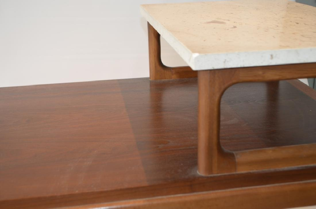Pair of Marble Top Lane Side Tables - 5