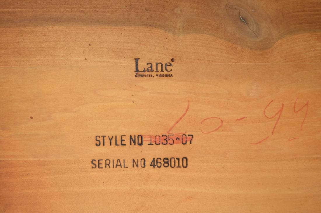 Pair of Marble Top Lane Side Tables - 7
