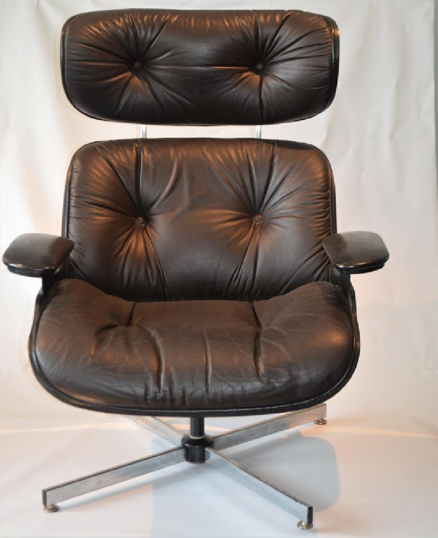 Plycraft Lounge Chair and Ottoman - 2