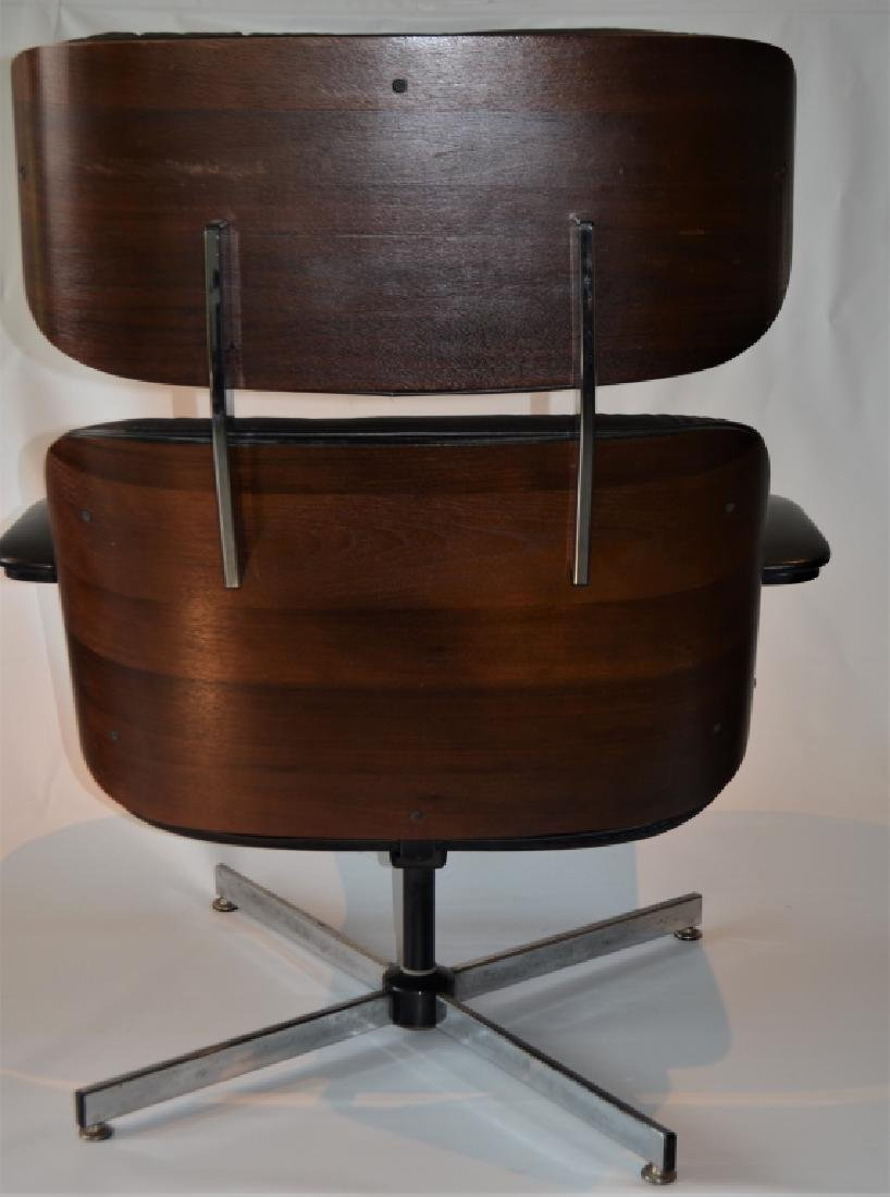 Plycraft Lounge Chair and Ottoman - 7