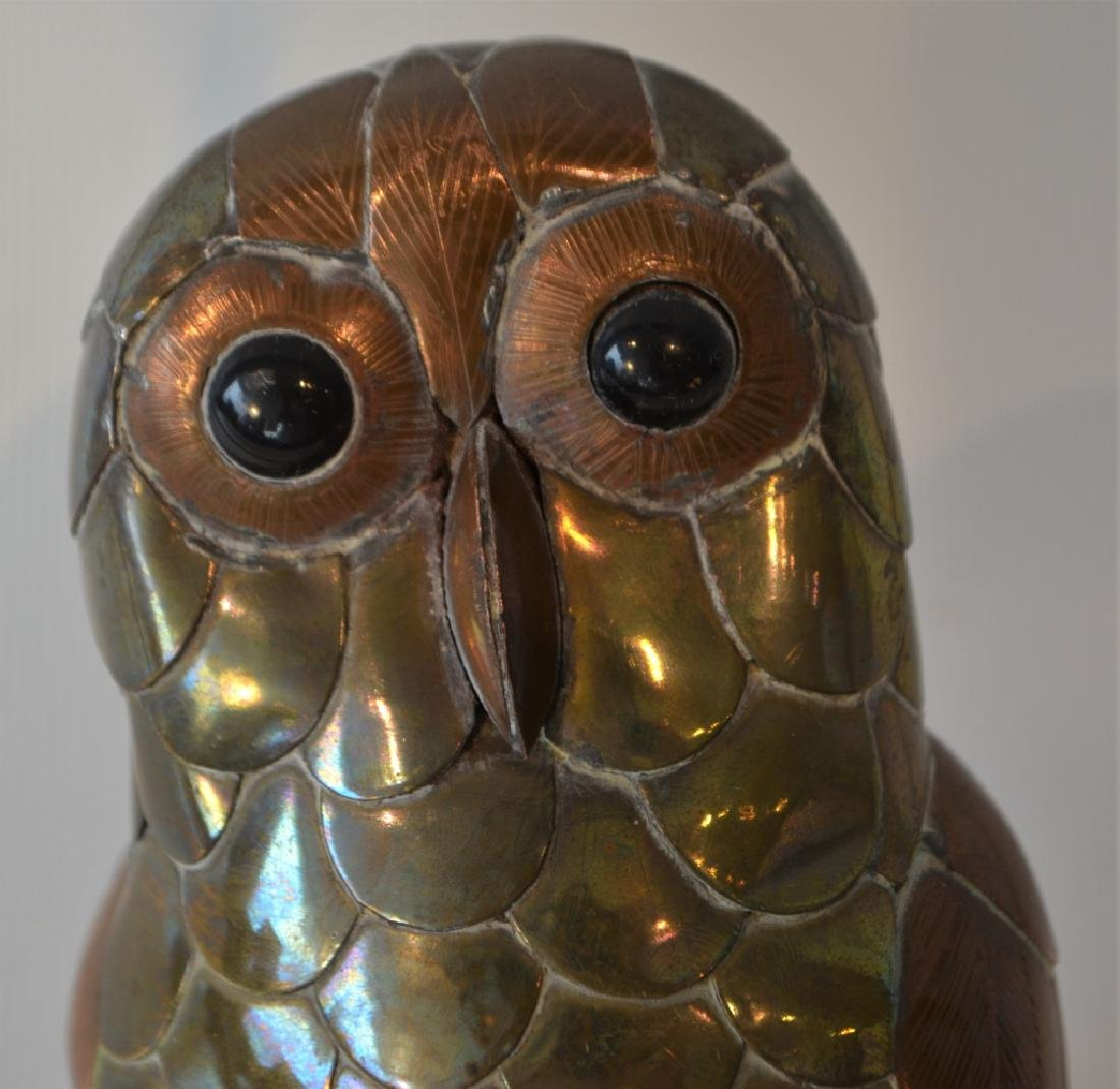 Sergio Bastamante Owl on Perch - 2