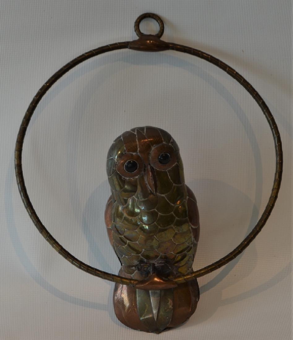 Sergio Bastamante Owl on Perch - 5