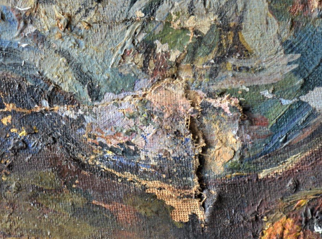 Original Theresa Bernstein Oil on Canvas - 10
