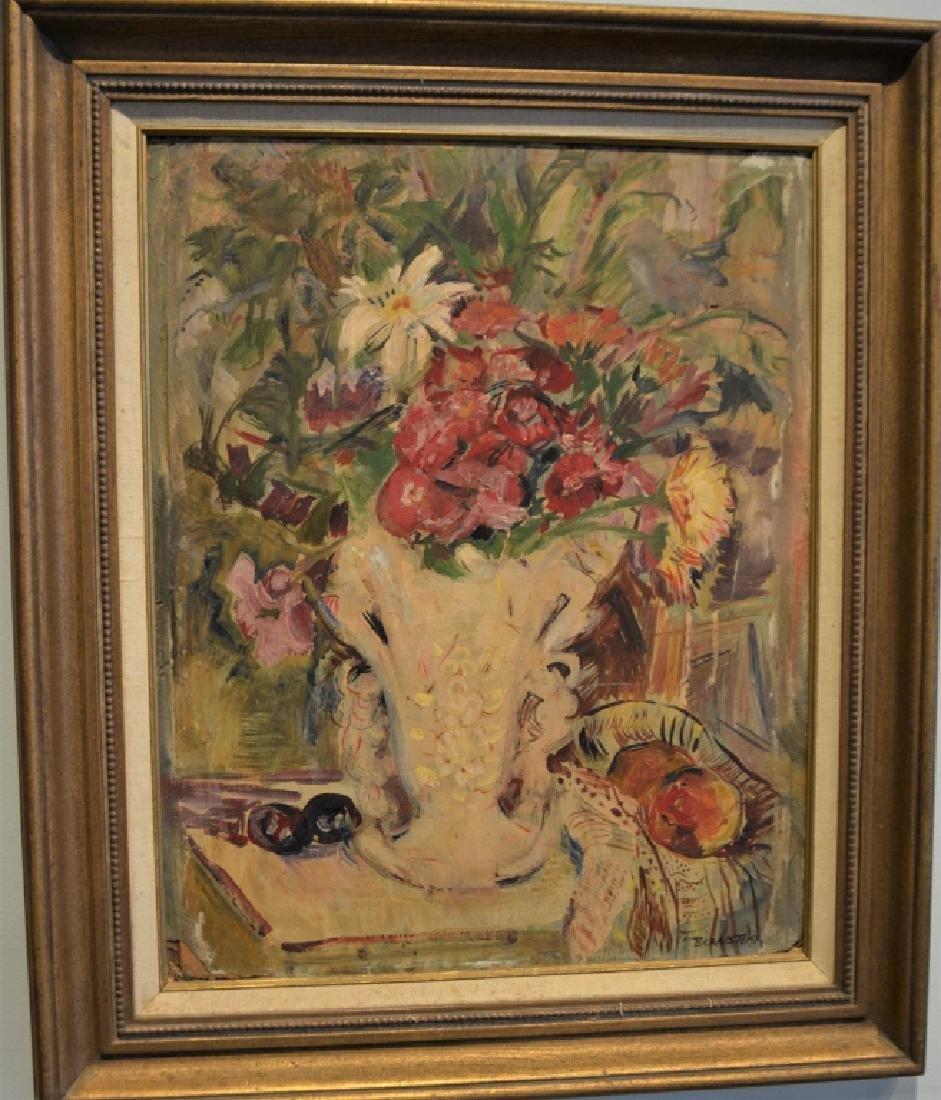 Original Theresa Bernstein Oil on Canvas - 4