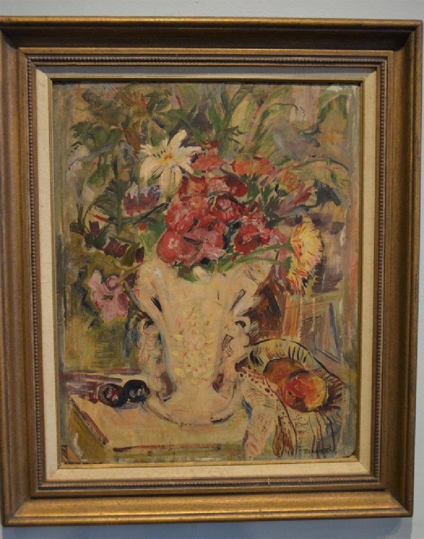 Original Theresa Bernstein Oil on Canvas - 5