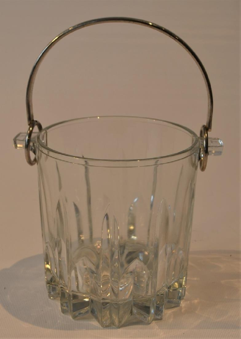 Pressed Glass Ice Bucket - 6