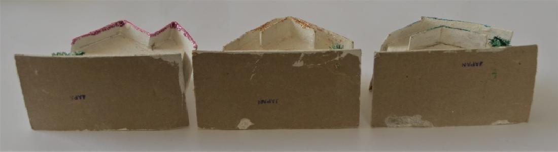 1920s Cardboard Christmas Village - 4