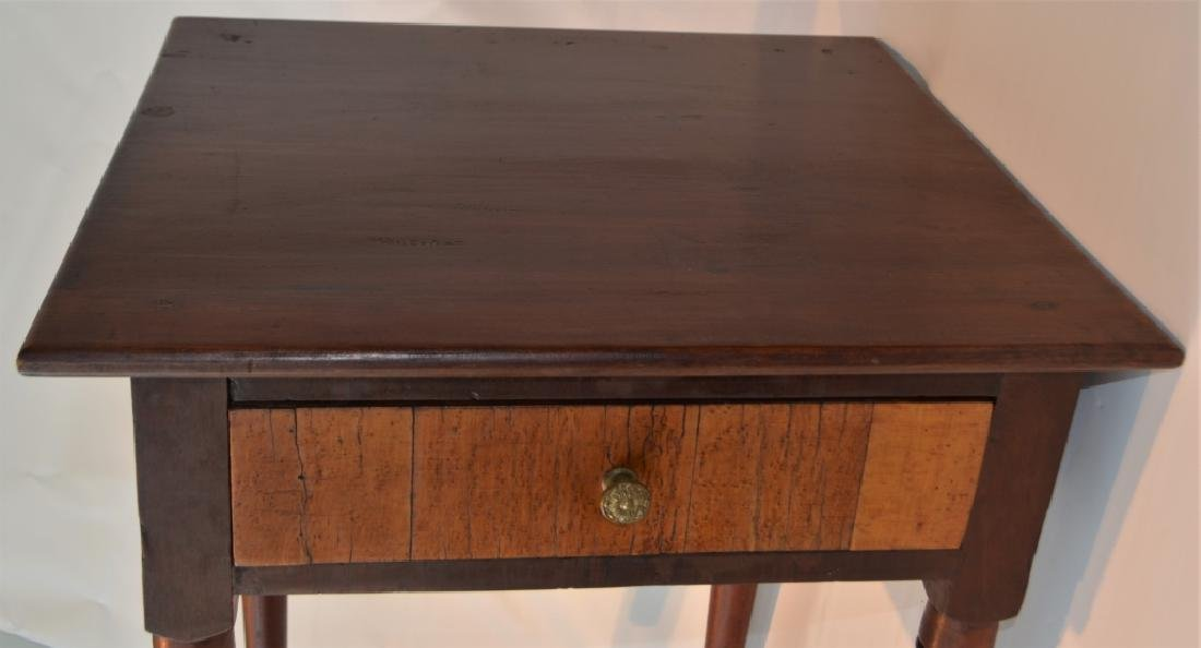 Sheraton One Drawer Stand Early 1800s - 4