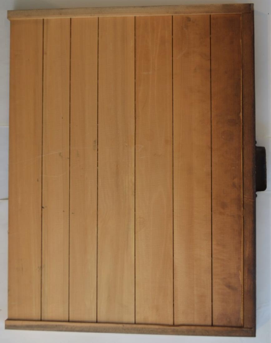 Early 1900s Type Case Oak Cabinet - 5