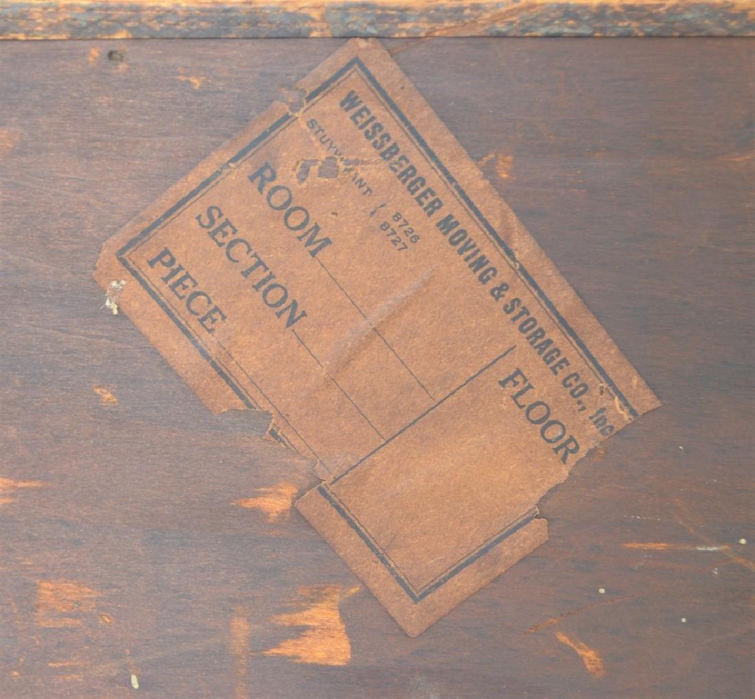 Early 1900s Type Case Oak Cabinet - 7