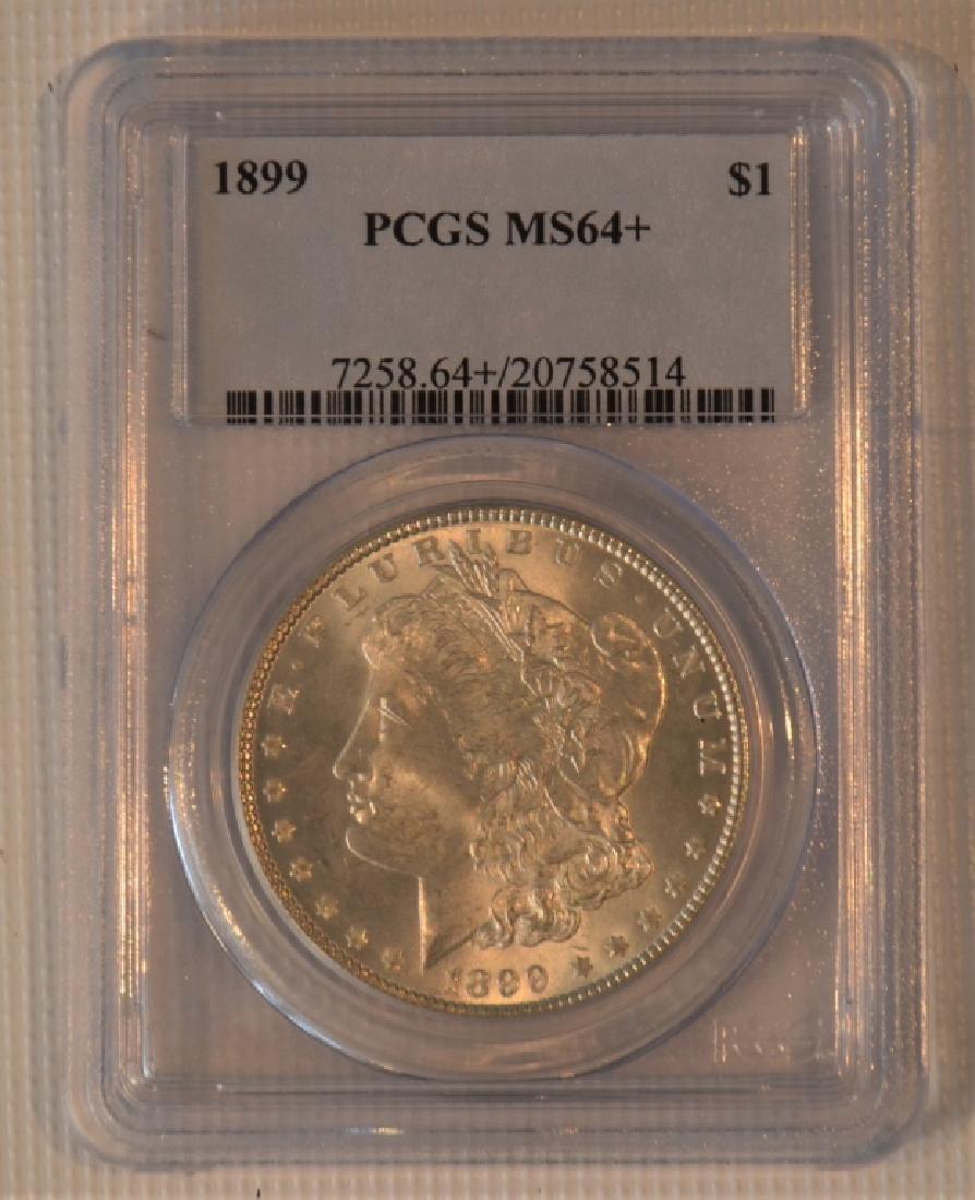 1899 Morgan Silver Dollar MS64+