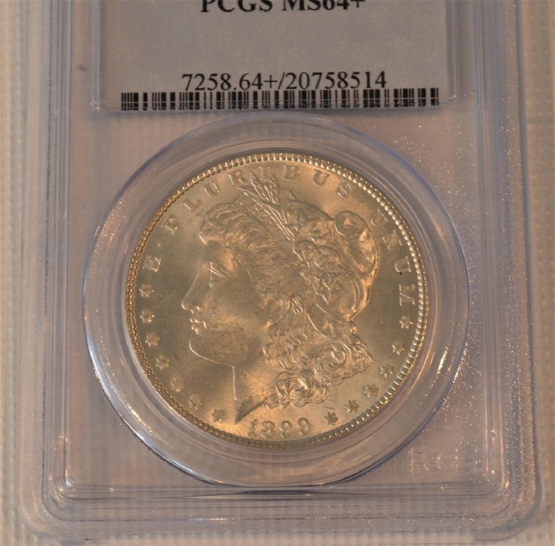 1899 Morgan Silver Dollar MS64+ - 2