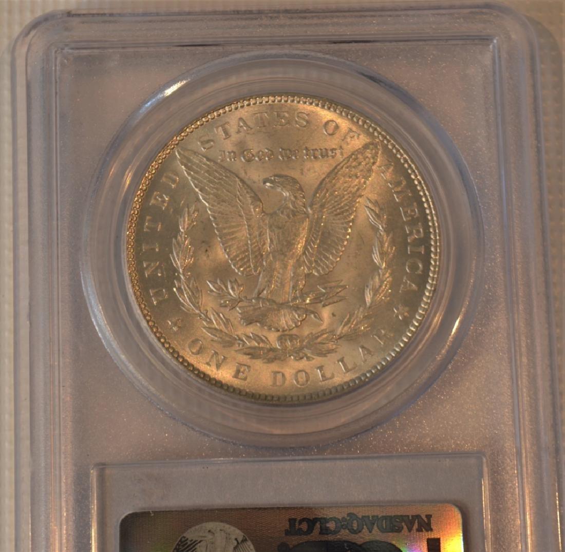 1899 Morgan Silver Dollar MS64+ - 3