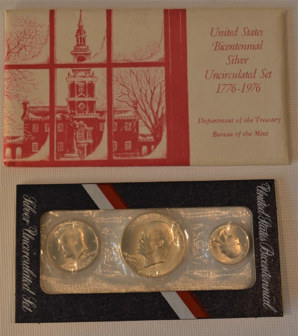 Lot of Two 1976 Bicentennial Coin Sets