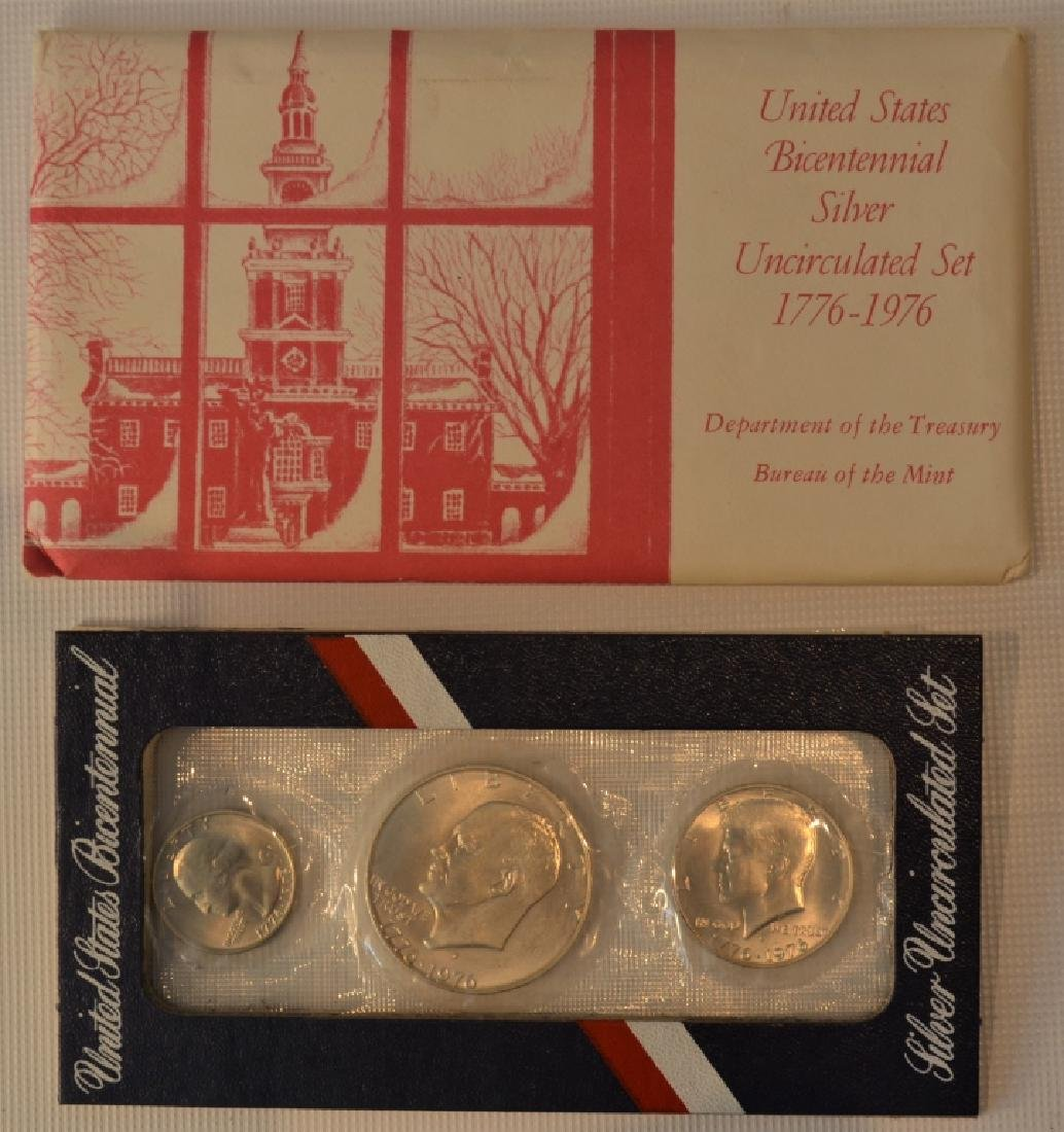 Lot of Two 1976 Bicentennial Coin Sets - 2
