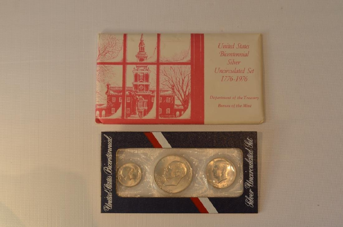 Lot of Two 1976 Bicentennial Coin Sets - 5