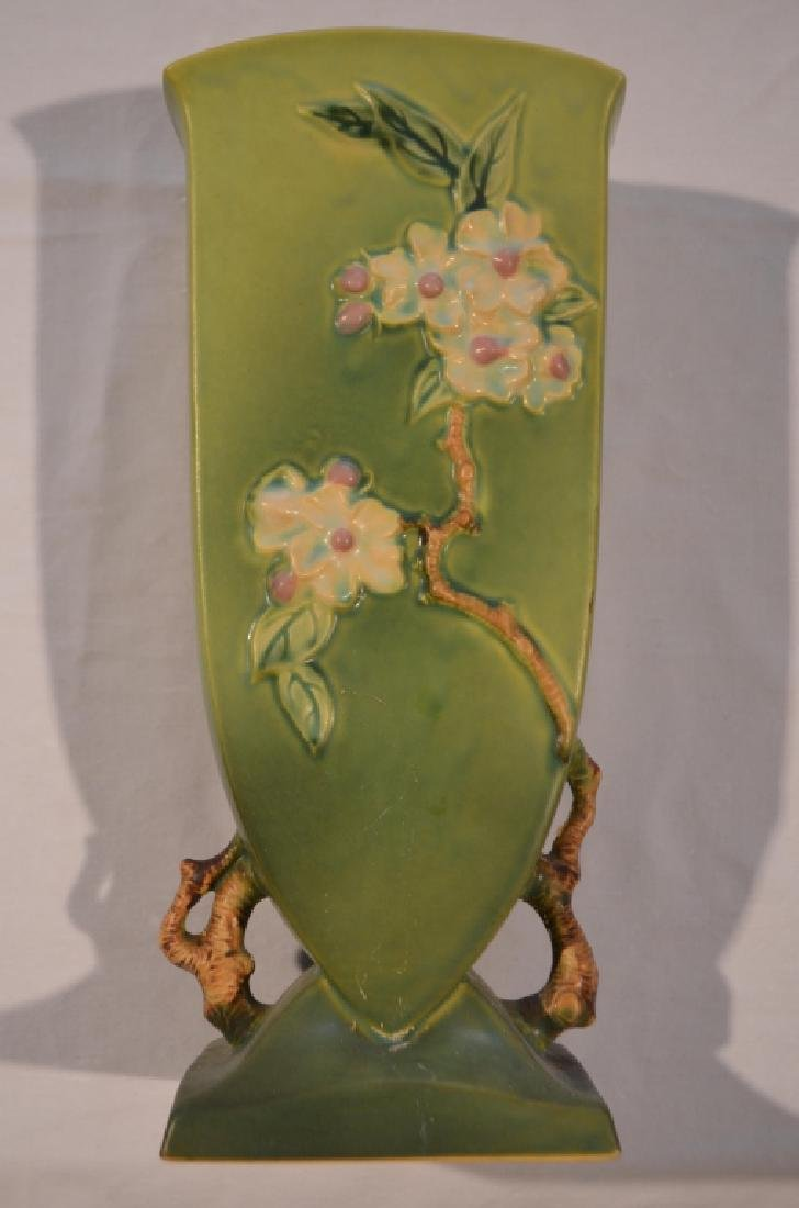 Roseville Apple Blossom Vase 390-12