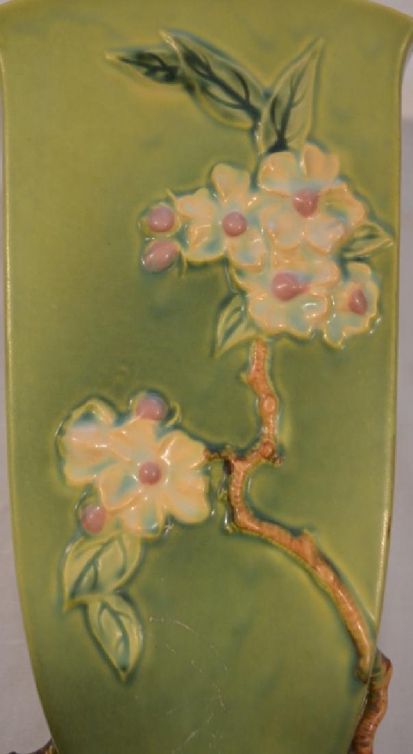 Roseville Apple Blossom Vase 390-12 - 3
