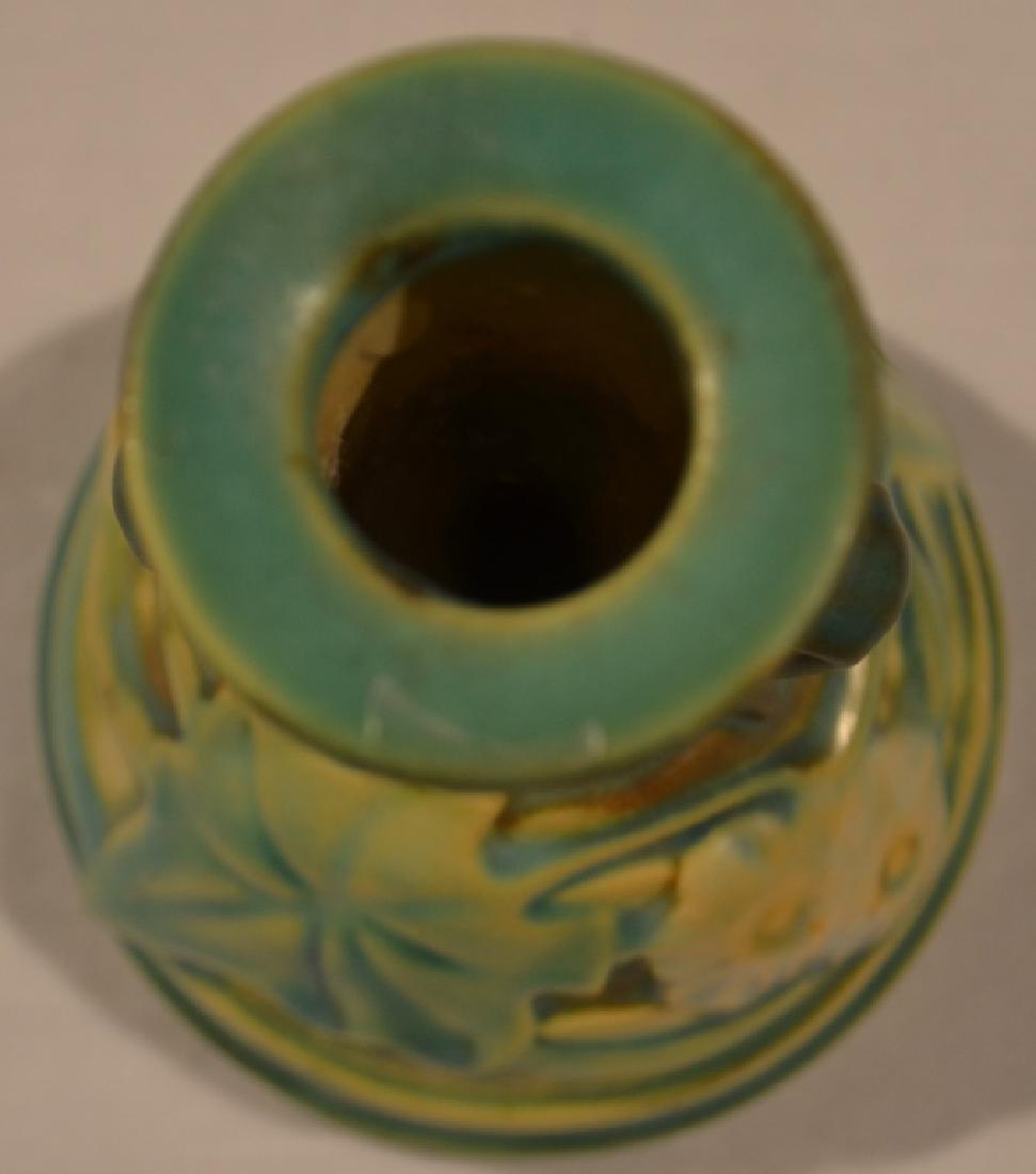 Roseville Style Flower Vase - 8