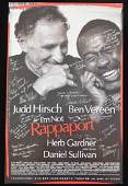 Broadway Poster I'm Not Rappaport Cast Signed