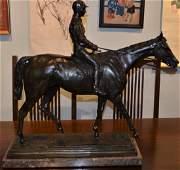 After Isidore Bonheur Signed Bronze Sculpture