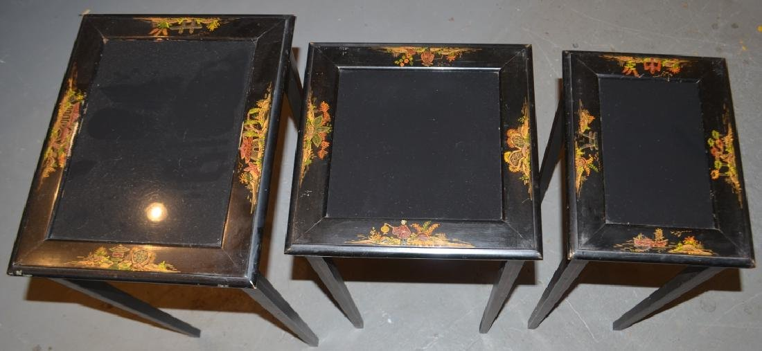 Glass Top Nesting Tables
