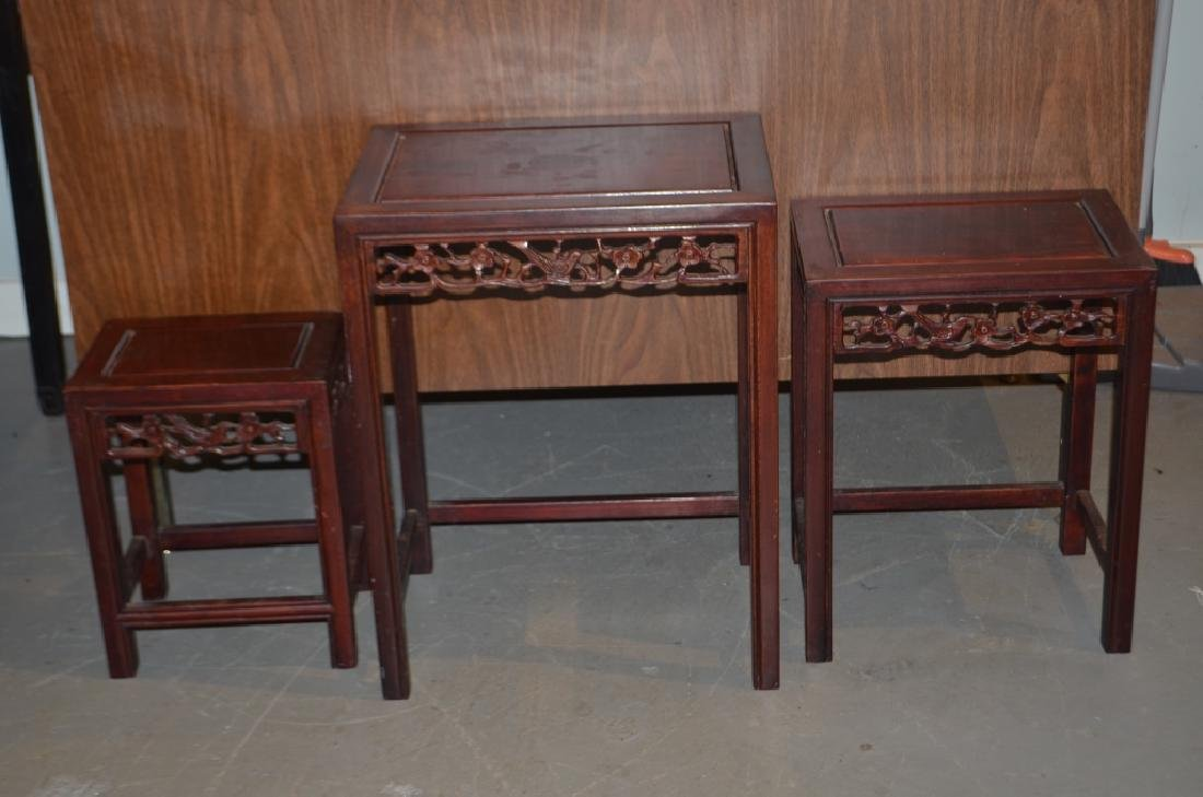 Wooden Nesting Tables - 5