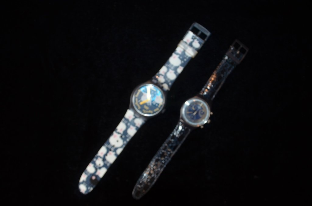 Vintage Pair of Swatch Watches