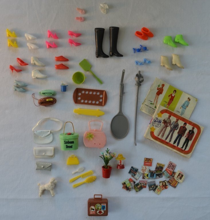 Large Lot of Barbie Dolls and Accessories - 6
