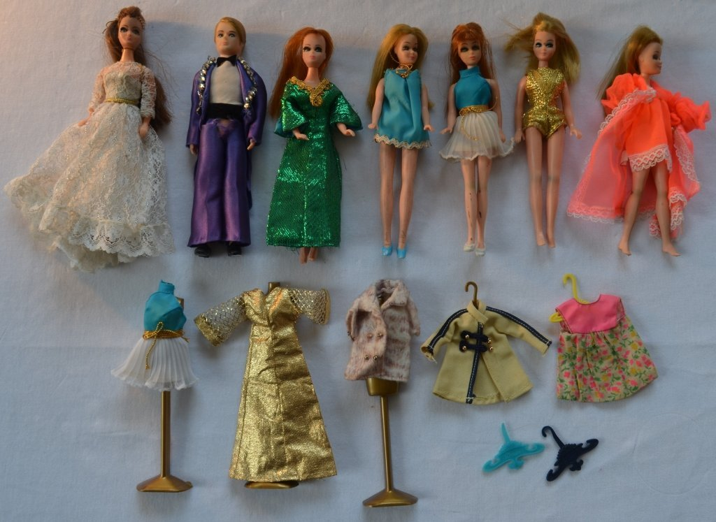 Large Lot of Barbie Dolls and Accessories - 7