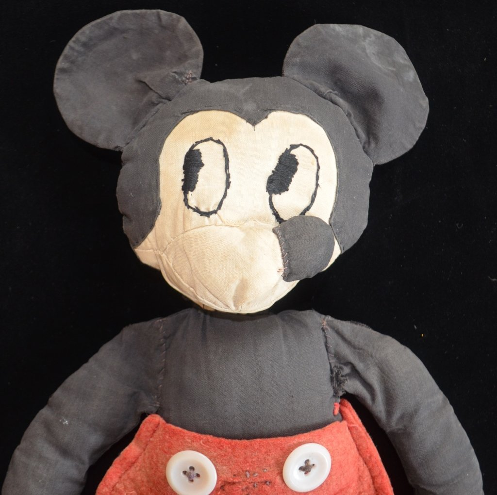 1930s Mickey Mouse Doll - 2