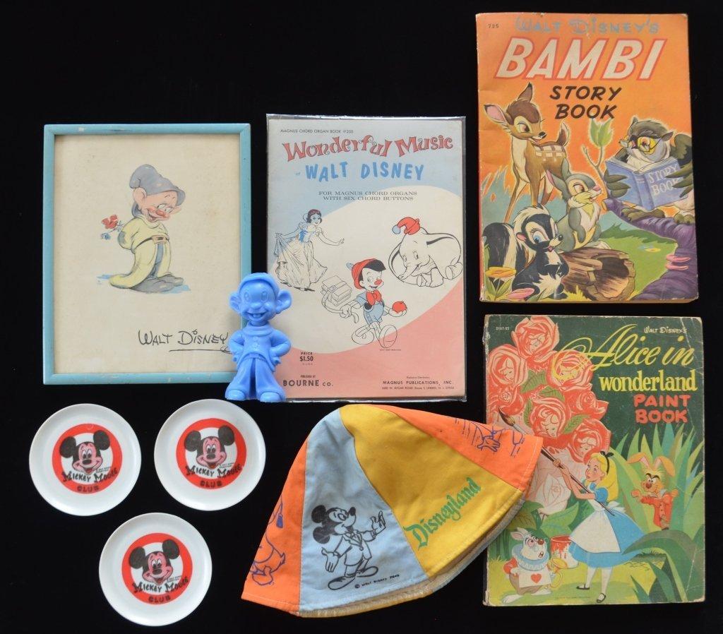 Walt Disney Merchandise Lot - 2