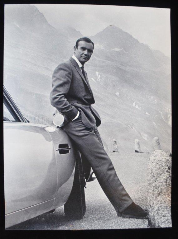 Sean Connery as James Bond Photo Poster Print