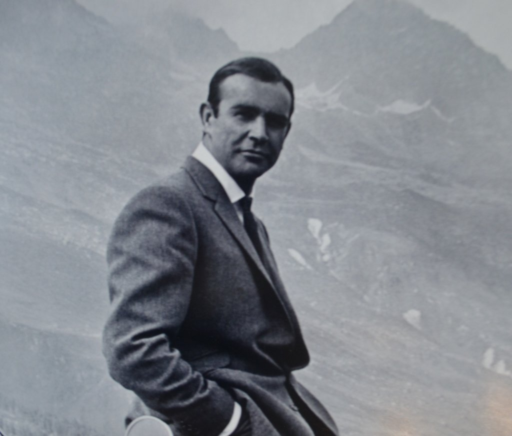 Sean Connery as James Bond Photo Poster Print - 2