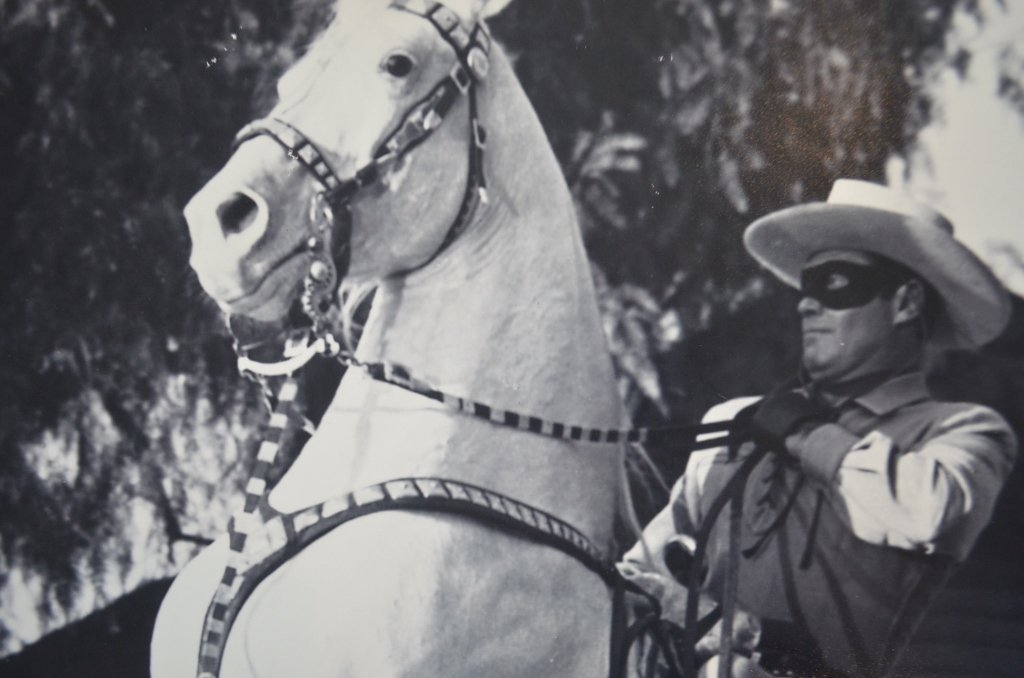 Lot of Two Clayton Moore The Lone Ranger Photo Prints - 3