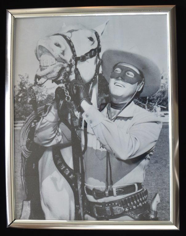 Lot of Two Clayton Moore The Lone Ranger Photo Prints - 4