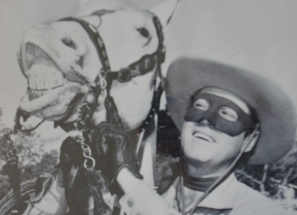 Lot of Two Clayton Moore The Lone Ranger Photo Prints - 5
