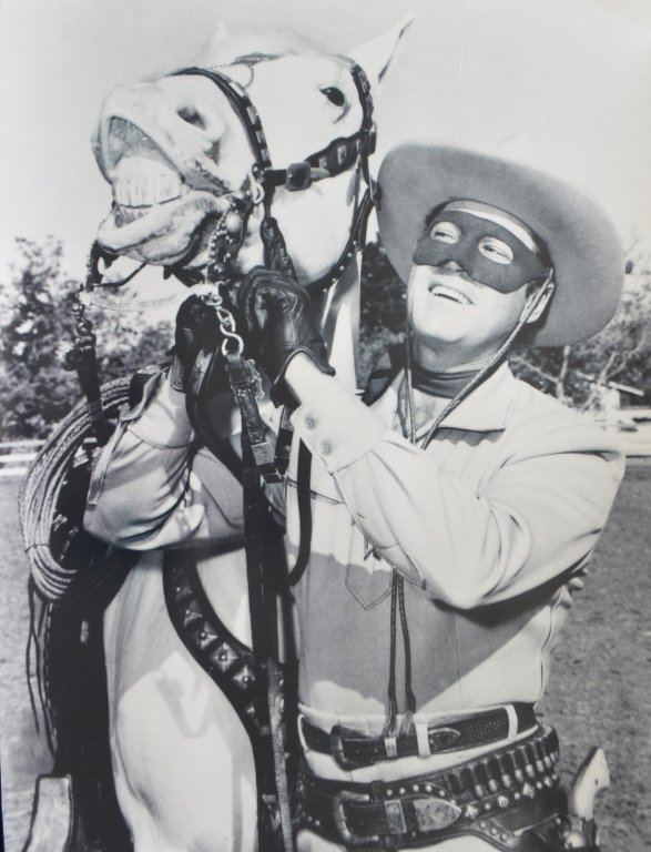Lot of Two Clayton Moore The Lone Ranger Photo Prints - 6