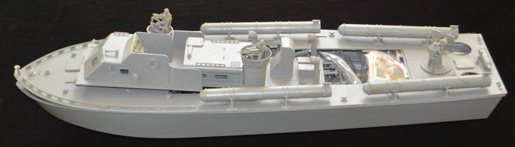 Vintage 1960s PT109 Ships Model