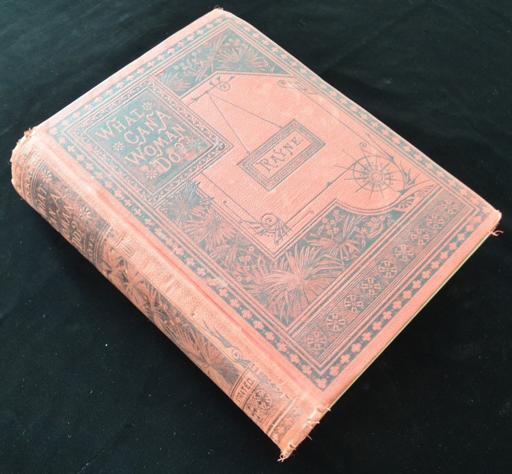 1st Edition What Can A Woman Do Book Rayne 1893 - 2