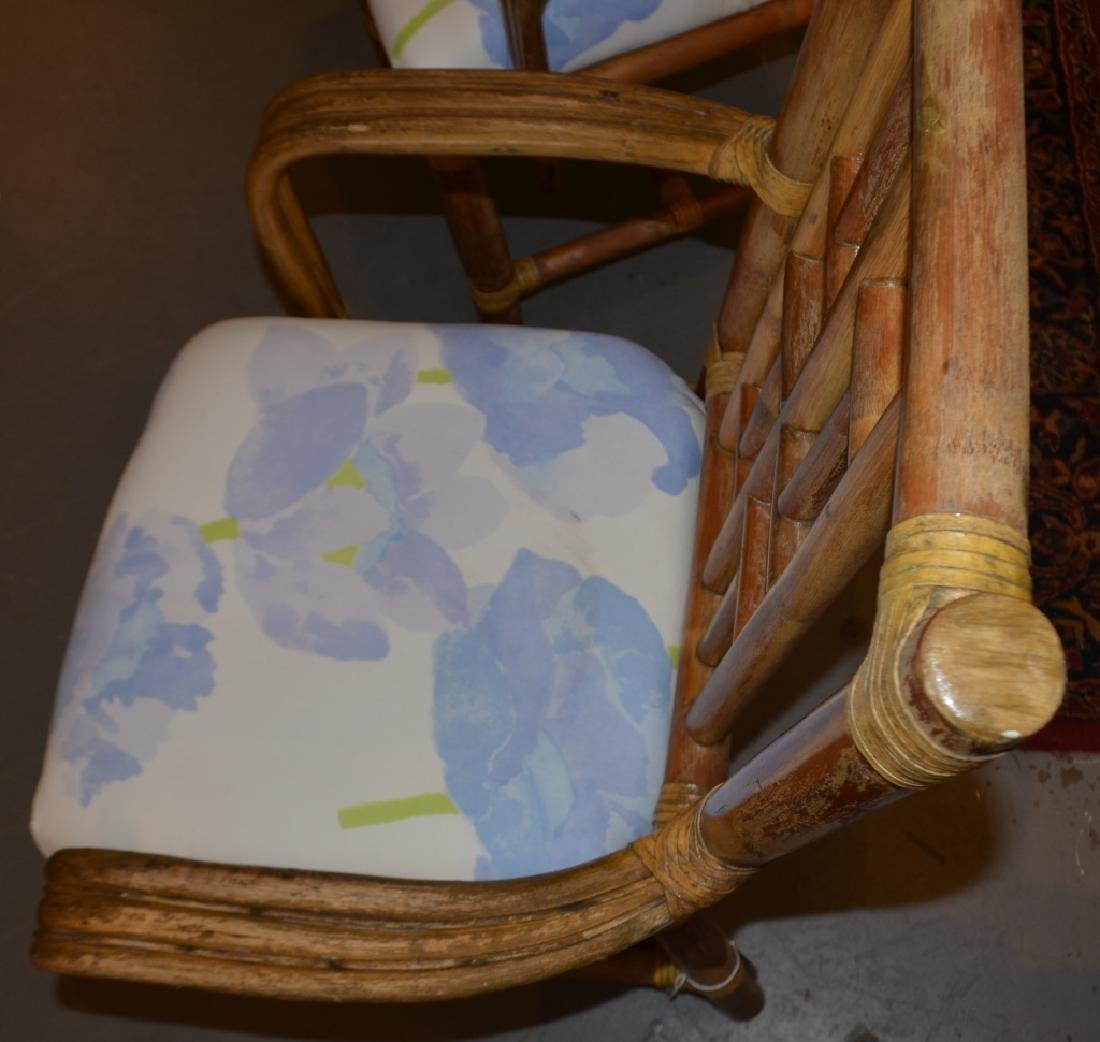 Pair of Bamboo Chairs - 2