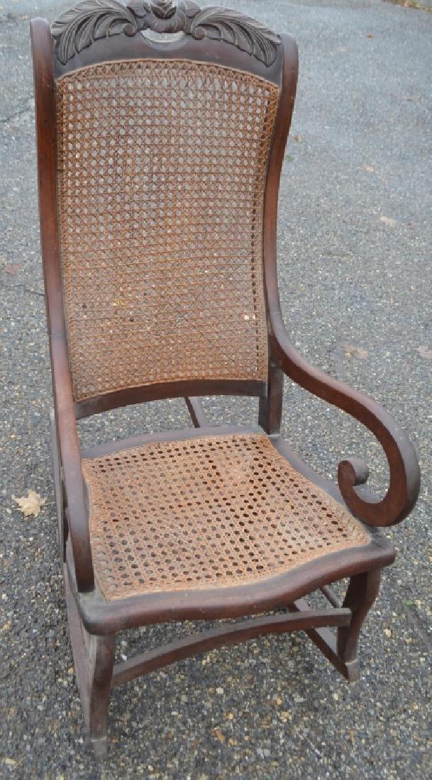 Antique Rocking Chair - 4