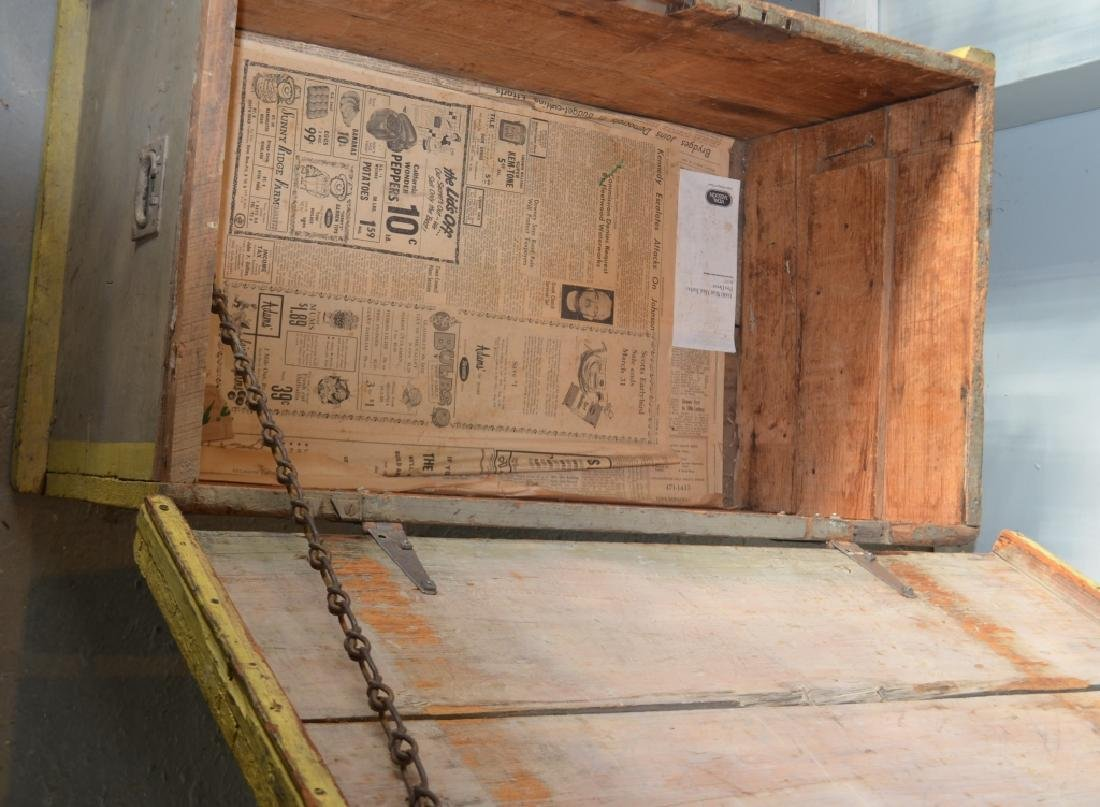 Large Vintage Storage Box - 5